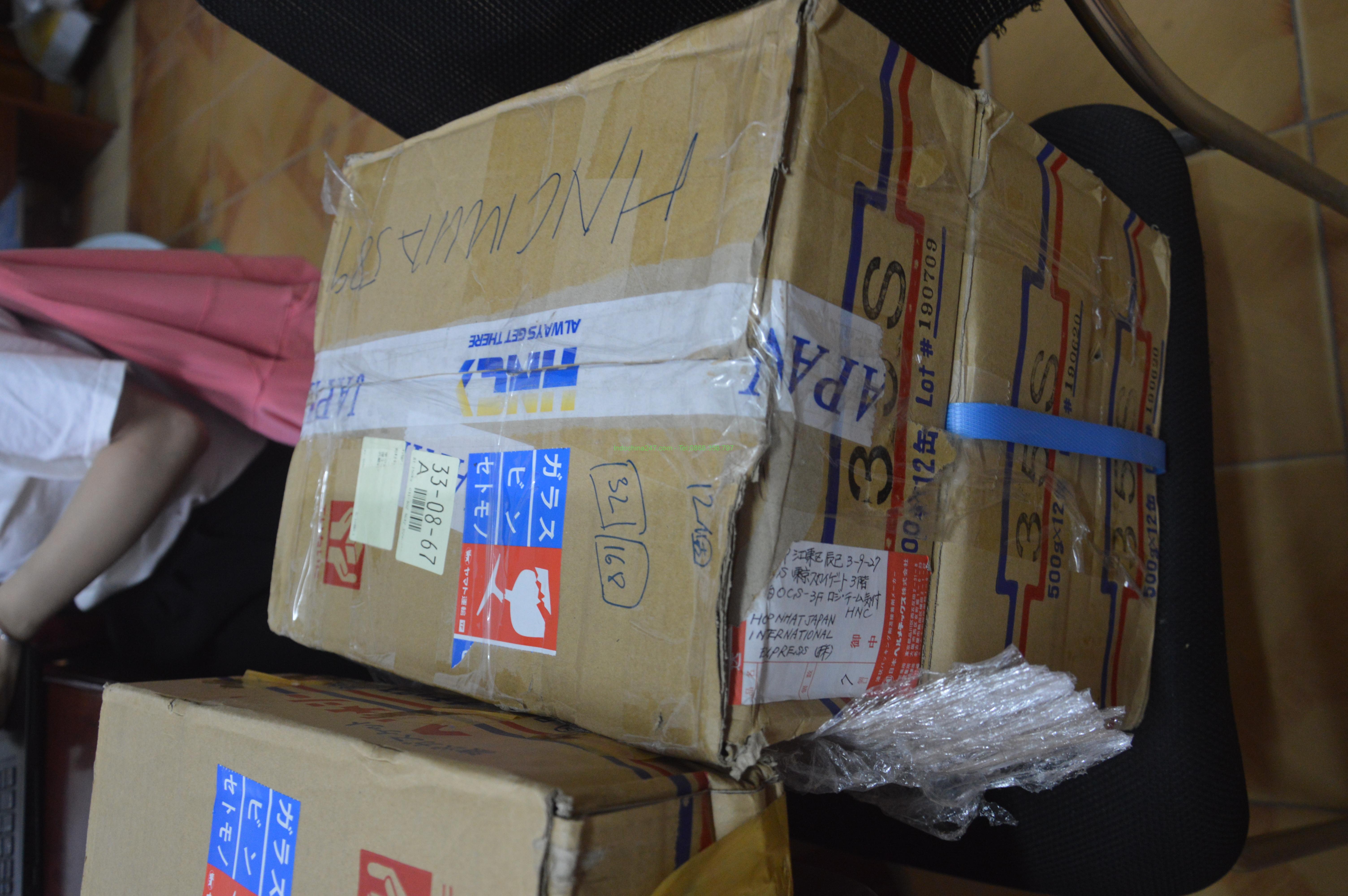 Bảng giá cước vận chuyển từ Hàn Quốc về Quận 12 - Sài gòn