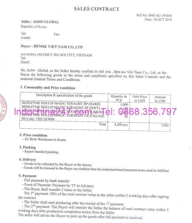Hợp đồng thương mại quốc tế - Indochina247.com