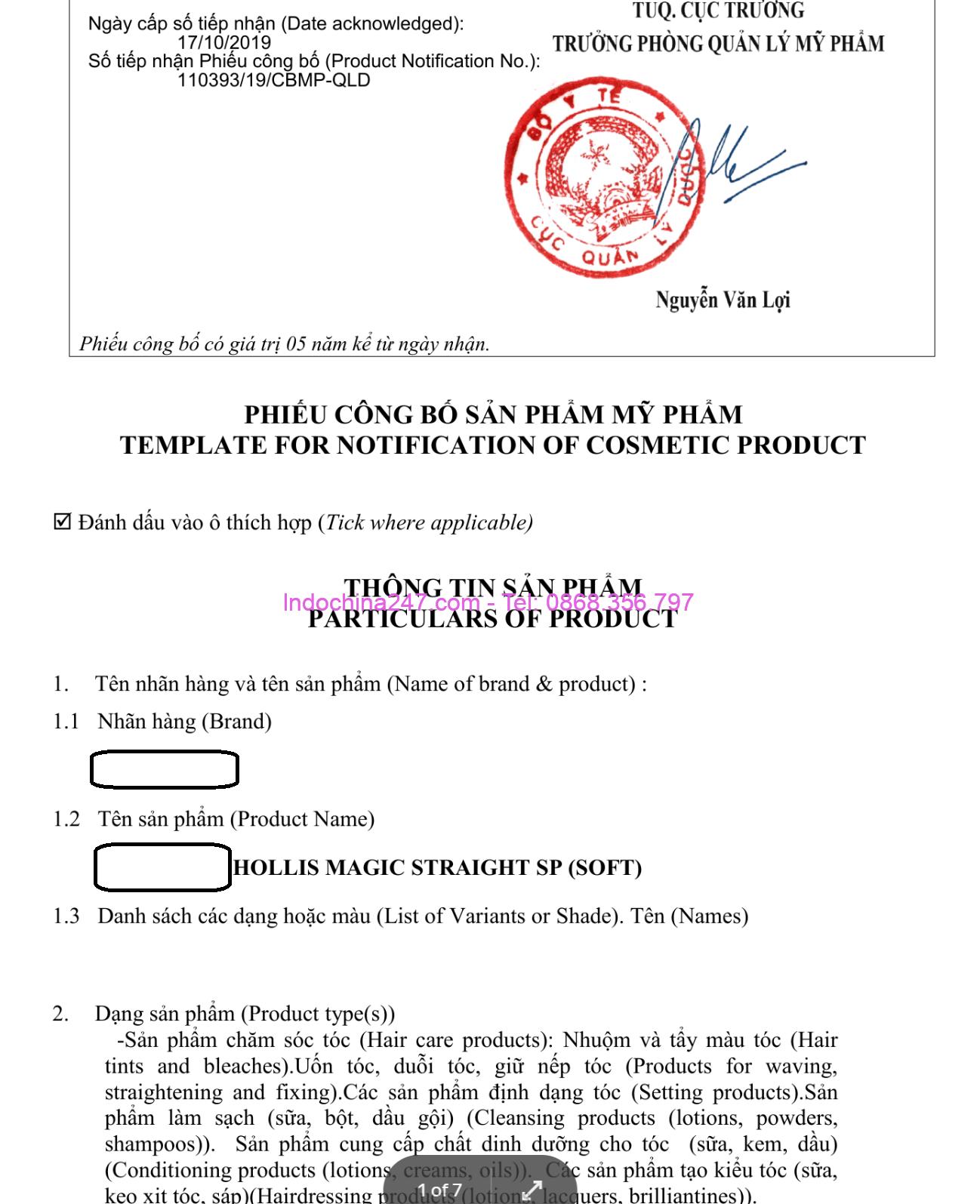 Dịch vụ làm công bố thông quan và vận chuyển đường biển mỹ phẩm từ Hàn và Nhật