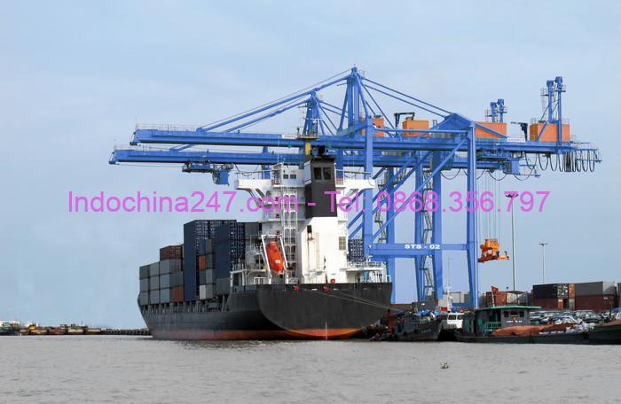 Dịch vụ gom hàng lẻ từ Sài Gòn đi cảng Yên Đài, Trung Quốc uy tín giá rẻ
