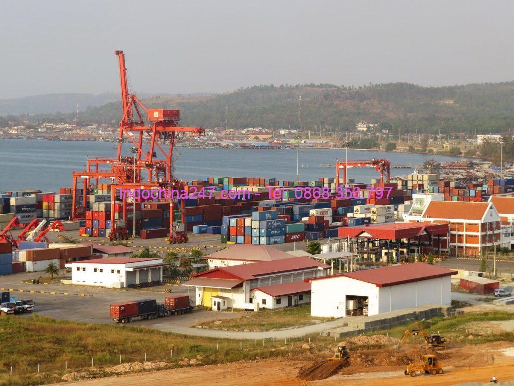 Dịch vụ vận tải hàng đường biển giá rẻ từ Đà Nẵng đến Cảng Sihanoukville Campuchia