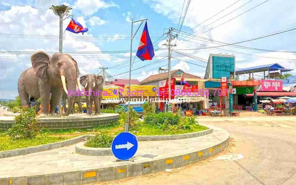 Dịch vụ chuyển phát nhanh từ Phú Quốc đi Kampong Speu Campuchia chất lượng tốt nhất