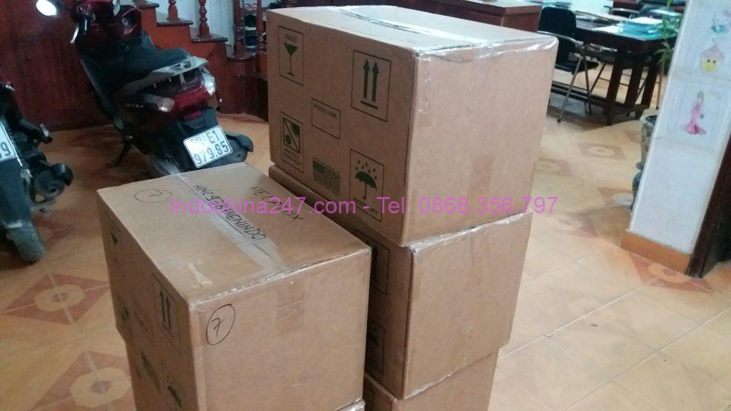 Chuyển phát nhanh ship hàng bưu phẩm gốm sứ từ Hàn Quốc về Việt Nam