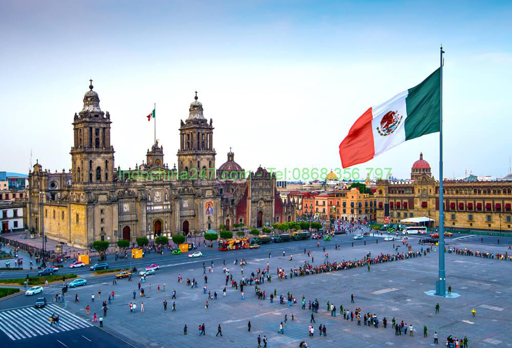 Chuyển phát nhanh hàng hóa từ Hà Nội đi Guanajuato (Mexico) giá rẻ uy tín