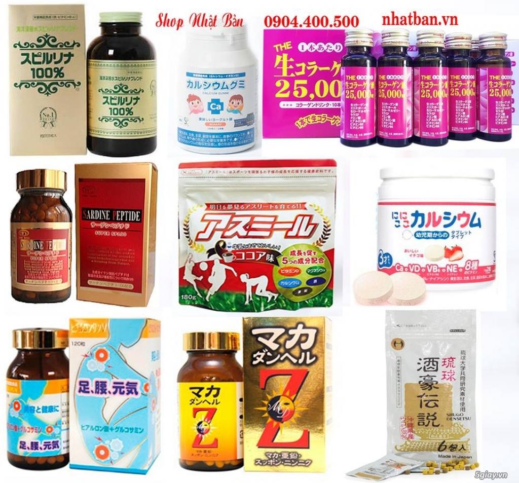 Dịch vụ xách tay hàng thực phẩm chức năng và vitamin từ Nhật Bản