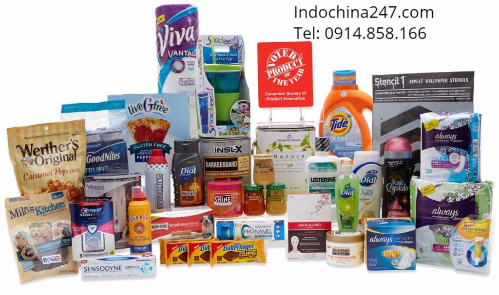 Các mặt hàng indochina247 nhận vận chuyển hàng không từ Mỹ về Việt Nam