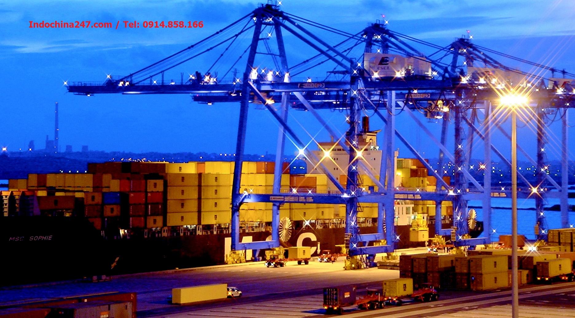 Dịch vụ vận chuyển đường biển ship gửi Giày dép các loại Hải Phòng Tokyo, Nhật Bản