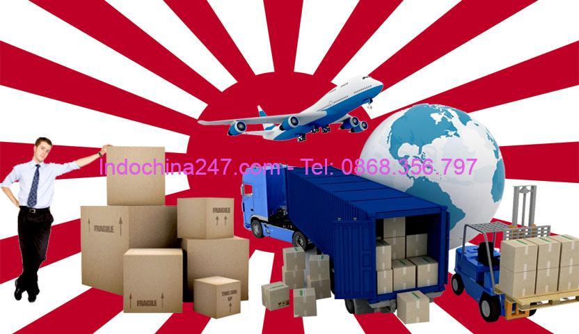 Dịch vụ vận chuyển hàng xách tay quần áo, giày dép, phụ kiện thời trang từ Tokyo Nhật Bản về Việt Nam