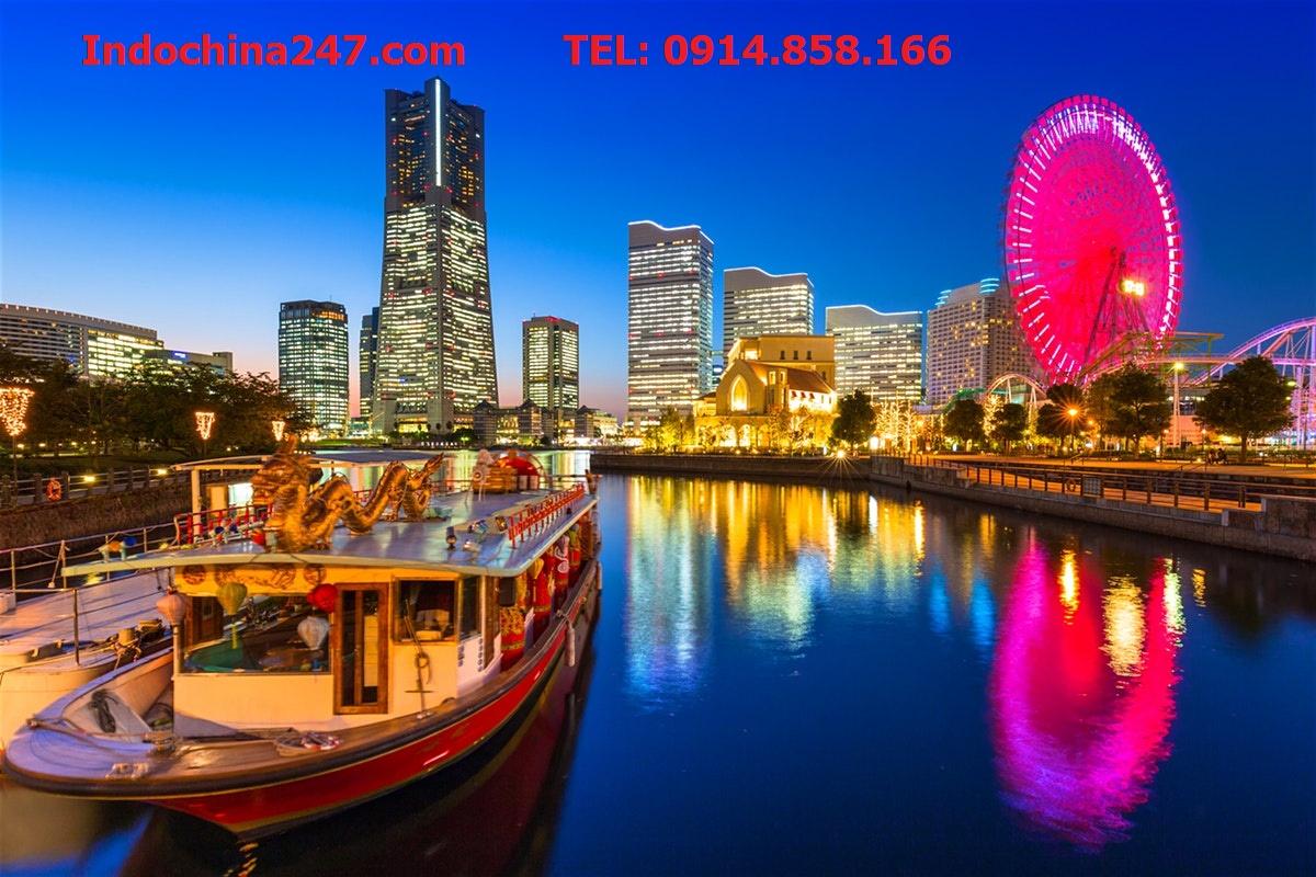 Vận chuyển đường biển giá rẻ từ Hải Phòng đi Yokohama, Nhật Bản