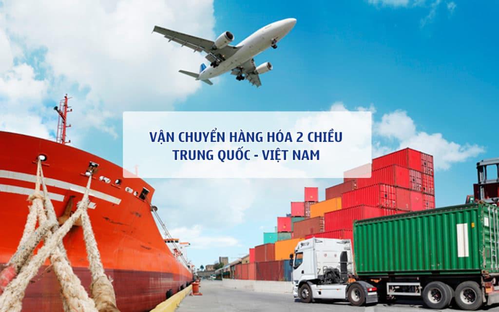 Dịch vụ vận chuyển hàng từ Trung Quốc về Việt Nam giá rẻ