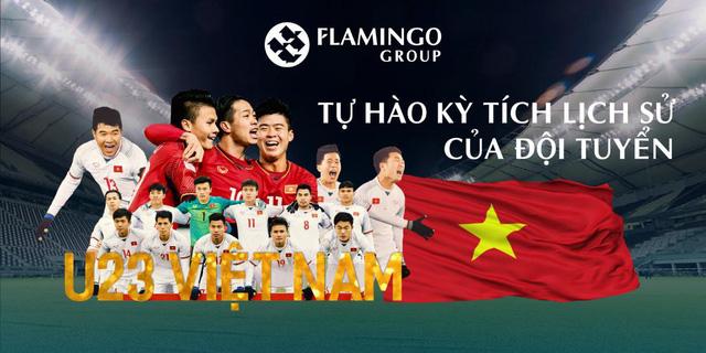 Quà mừng đẳng cấp từ Flamingo Group sẵn sàng chào đón U23 Việt Nam