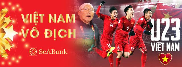 Ngân hàng đồng hành cùng U23 Việt Nam tại vòng chung kết