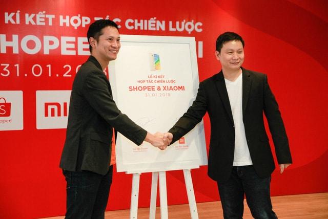 """Shopee và Xiaomi hợp tác chiến lược: Cam kết mang tới các sản phẩm công nghệ """"Rẻ Vô Địch"""""""