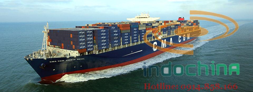 Dịch vụ vận chuyển hàng hóa đường biển quốc tế