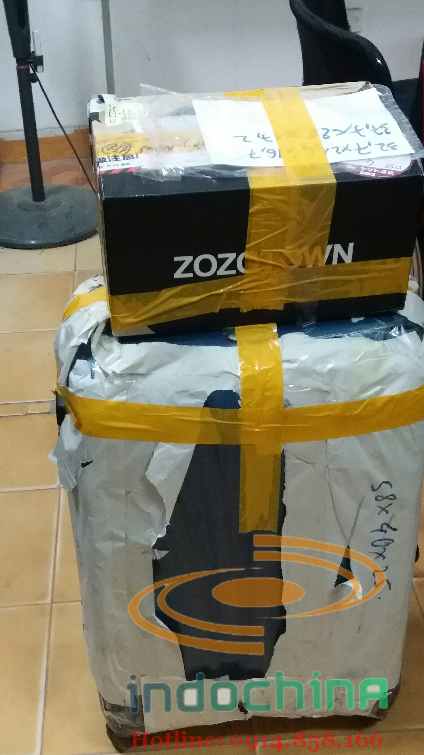 Dịch vụ chuyển hàng xách tay từ Nhật