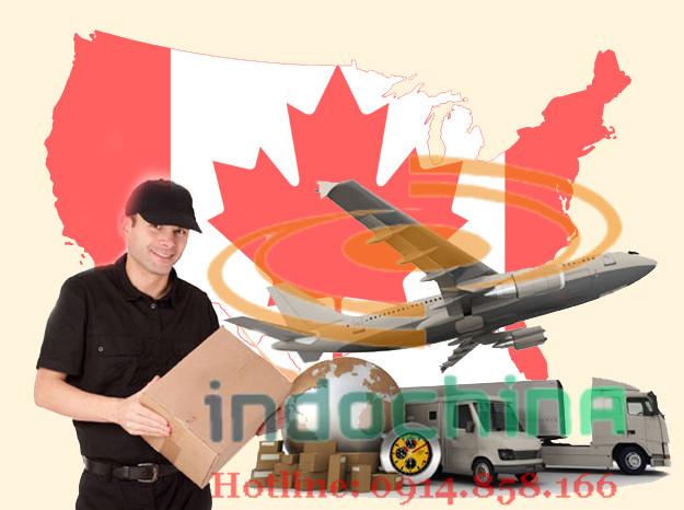 Dịch vụ vận chuyển từ Anh và Canada về Việt Nam