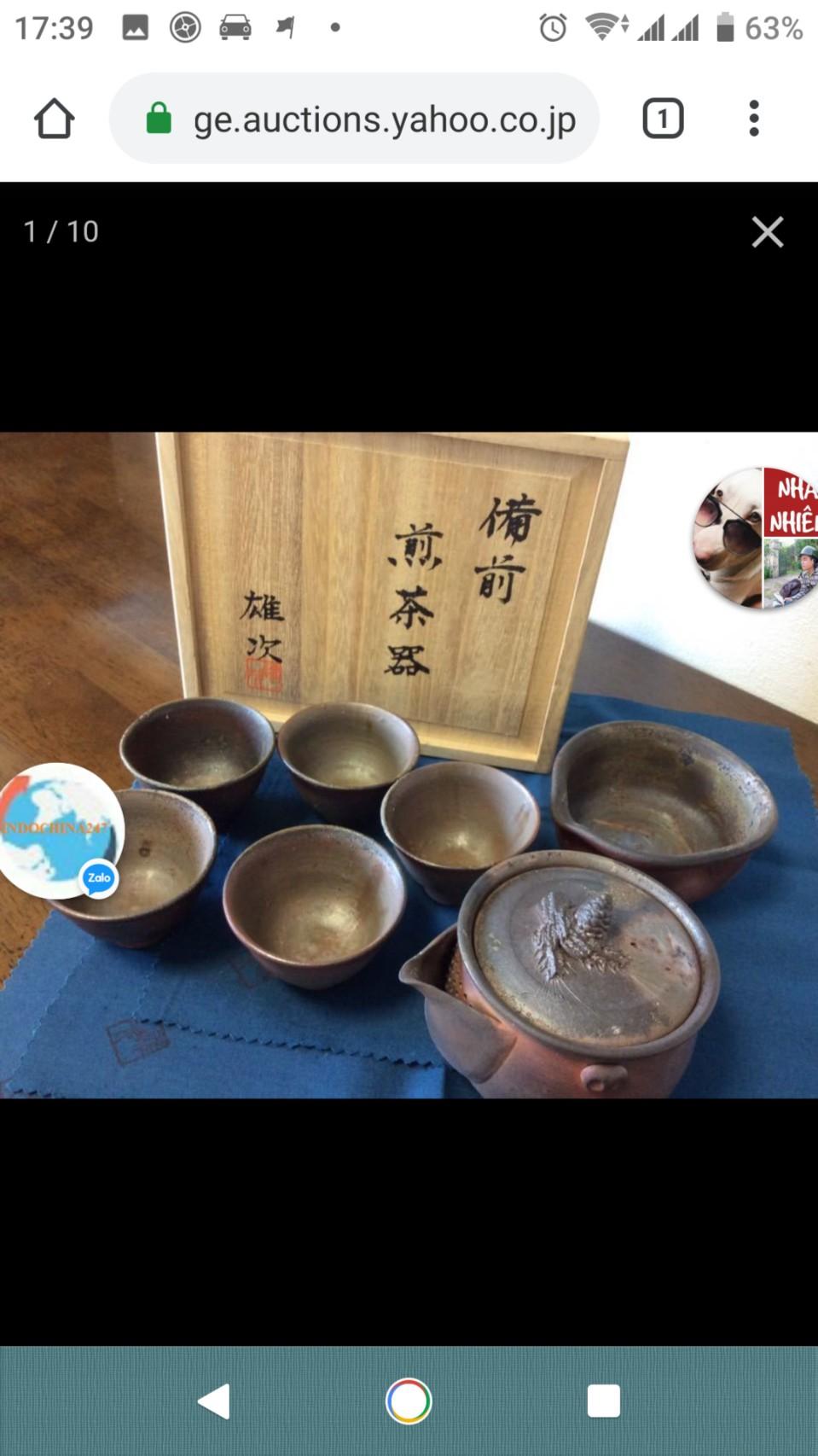 Dịch vụ vận chuyển đồ gốm sứ trưng bày từ Nhật về Việt Nam