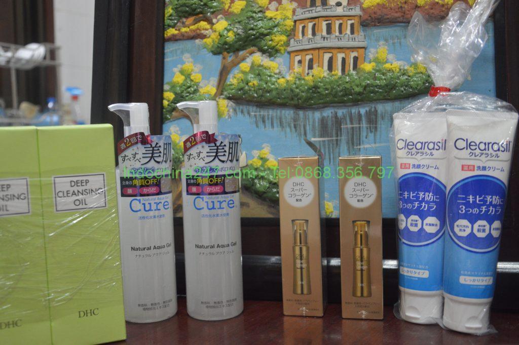 Nhận gửi hàng thực phẩm chức năng và mỹ phẩm từ Hàn về Sài gòn