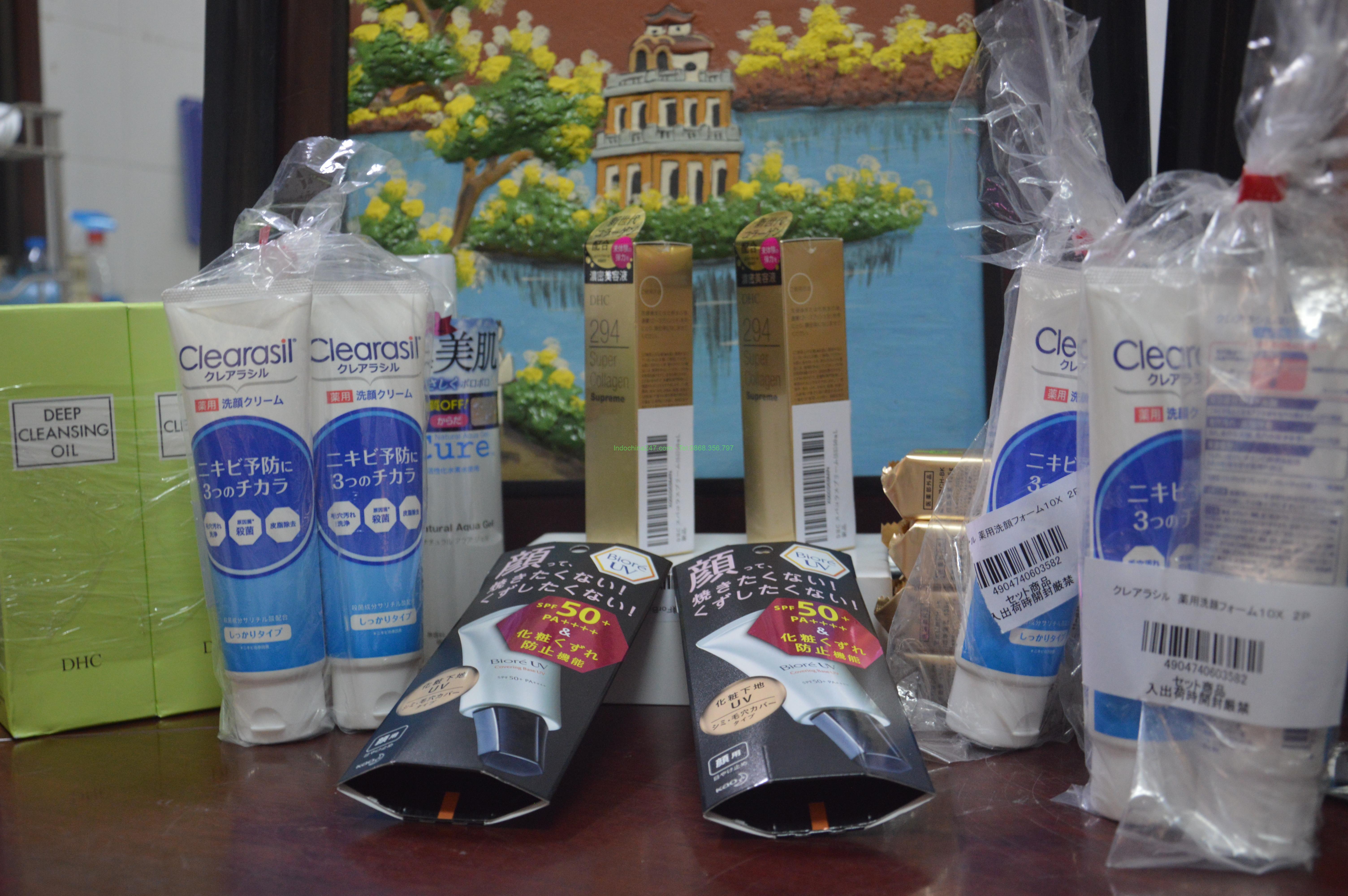Nhận gửi hàng thực phẩm chức năng và mỹ phẩm từ Hàn và Nhật