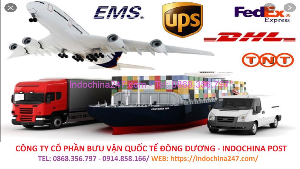 Dịch vụ vận chuyển chuyển phát nhanh từ Việt Nam đi Mỹ