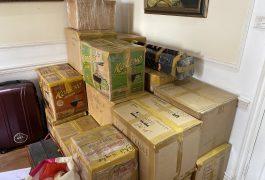 Dịch vụ chuyển phát nhanh hàng đồ gia dụng từ Singapore và Hàn Quốc
