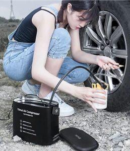 Cung cấp bơm lốp ô tô nhập khẩu - Xiaomi 70Mai TP01