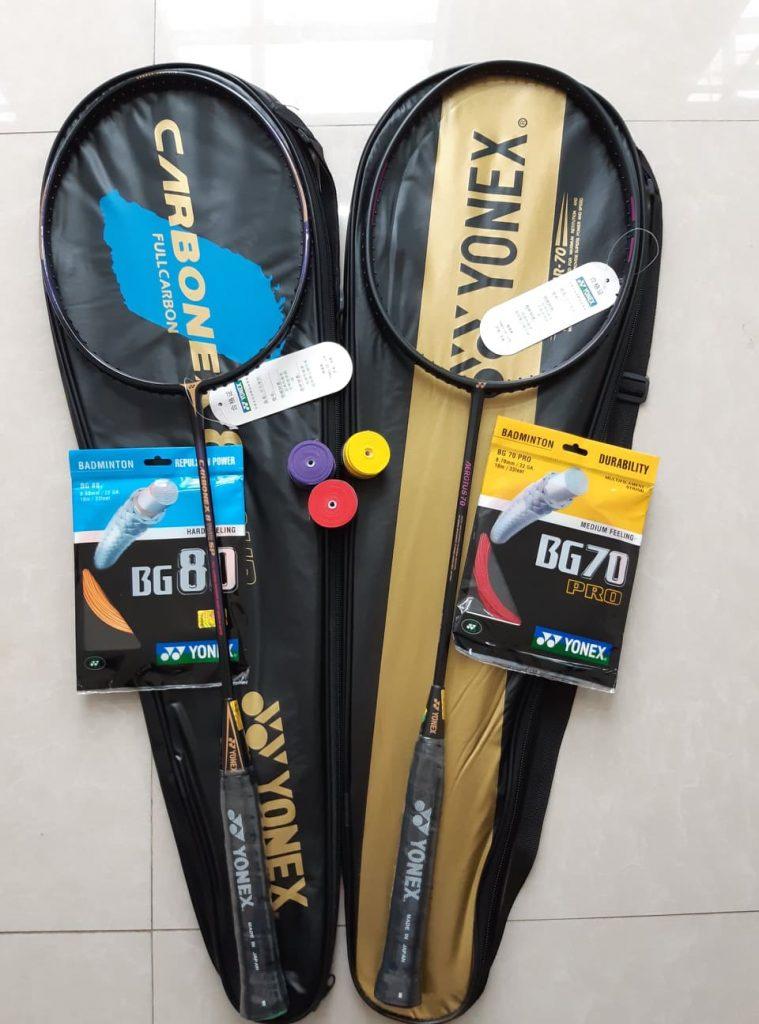 Dịch vụ mua hộ chuyển phát nhanh vợt cầu lông và phụ kiện từ Nhật về Việt Nam